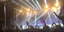 Megadethin Dave Mustaine muisteli Nick Menzaa yhtyeen keikalla
