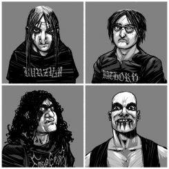 Season Of Mistilla mielenkiintoinen kiinnitys: black metallin oma Gorillaz