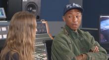 Näin Pharrell Williams reagoi kuullessaan ensimmäistä kertaa Gojiraa