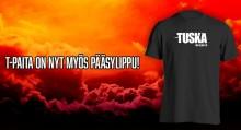 Tuskalta uusi pääsylippuformaatti: personoitu t-paita