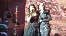 Tarja Turunen nousi lavalle Within Temptationin kanssa Hellfestissa