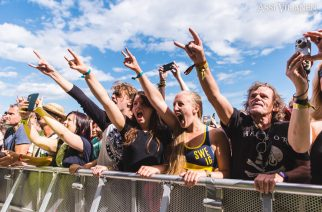Sweden Rock juhli merkkivuosia lämmöllä lämpimässä säässä