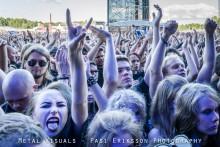 Iron Maiden hullaannutti yleisön Kantolan: katso Kaaoszinen kuvat tapahtumasta