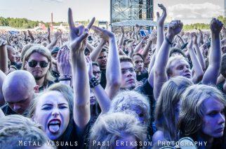 """Iron Maidenia Euroopan kiertueella lämmitellyt Shinedown: """"Iron Maidenin fanit ovat omaa luokkaansa"""""""