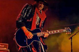 """Aerosmithin Joe Perry julkaisi musiikkivideon kappaleestaan """"Aye, Aye, Aye"""""""