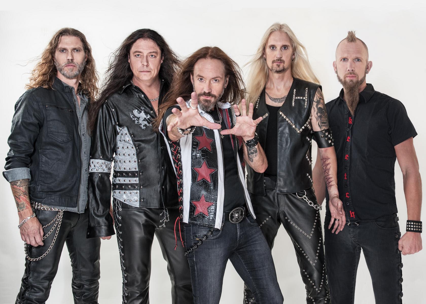 """Hammerfall julkaisee esikoisalbumistaan """"Glory To The Brave"""" 20-vuotis juhlapainoksen"""