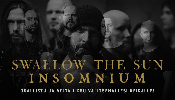 Swallow The Sun / Insomnium