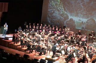 """Entombedin alkuperäisjäsenet esittivät """"Clandestine"""" -albuminsa kokonaisuudessaan yhteistyössä Malmön sinfoniaorkesterin kanssa"""