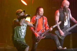 All That Remainssin laulajan Phil Labonten pestistä Five Finger Death Punchissa katsottavissa lisää livevideoita