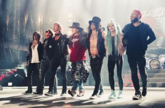 Slash studiossa: olisiko uusi Guns N´ Roses albumi tekeillä?