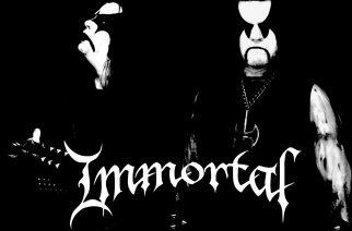 Immortalilta lyhyt päivitys tulevaan albumiin liittyen