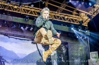 Metal Visuals Pasi Eriksson Photography: Iron Maiden Kantola 2016