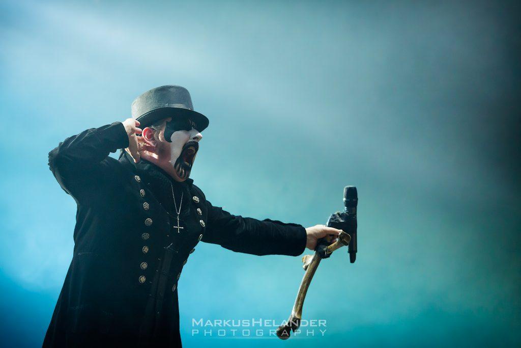 King Diamond tarjoaa tuoreen päivityksen King Diamondin ja Mercyful Faten tuleviin albumeihin liittyen