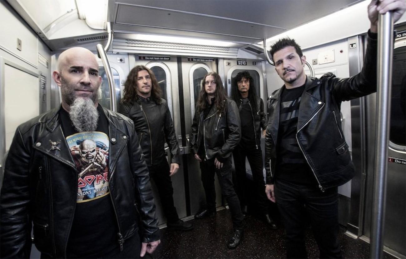 Elävien kirjoissa 36 vuotta, Anthrax Helsingin jäähallilla