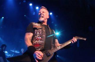 Metallica keskeytti Kööpenhaminan keikkansa James Hetfieldin sairastuttua