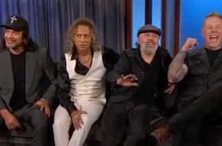 Metallica vieraana Jimmy Kimmel Live! -ohjelmassa -katso videot