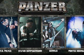Destruction Schmierin luotsaama Pänzer julkaisemassa uutta albumiaan lokakuussa