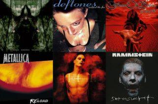 Historian siipien havinaa: Nämä tunnetut rock- ja metallialbumit täyttävät tänä vuonna 20 vuotta