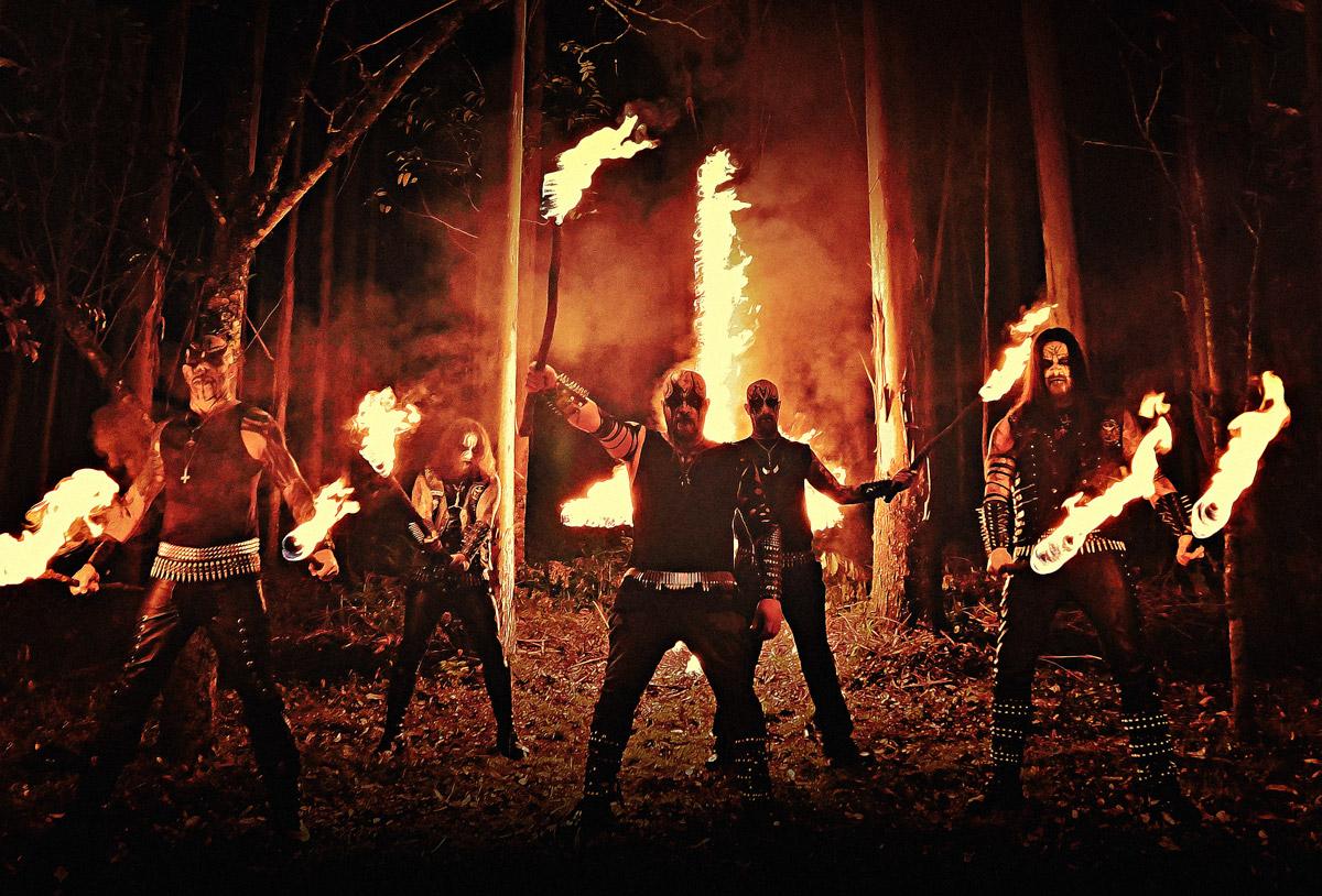 Brasilialaisen black metal -yhtye Patrian uusi kappale Kaaoszinen ensisoitossa