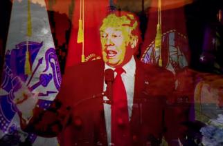 "Näin taipuu Donald Trumpilta Marilyn Mansonin ""Irresponsible Hate Anthem"""