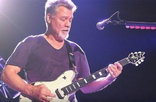 Eddie Van Halen antoi suuren kitaralahjoituksen nuorten soittamista tukevalle säätiölle