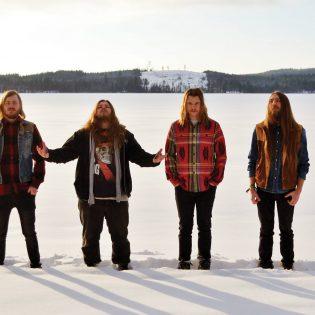 Psykedeelistä stoneria soittava Skraeckoedlan Suomeen kolmelle keikalle maaliskuussa