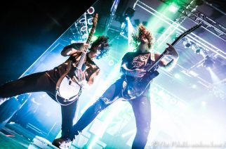 Asking Alexandria veti energisen shown Tampereella