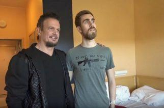 Disturbedin kitaristilta upea ele: vieraili sairaan fanin luona Oslon sairaalassa ennen Norjan keikkaa