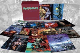 Iron Maidenin faneja hemmotellaan: 1990-2010 aikana ilmestyneet studiolevyt saavat uudelleen julkaisun vinyylinä