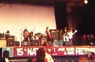 Katsaus heavy metallin alkulähteille: Judas Priestin vuonna 1975 soittamalta keikalta katsottavissa videokuvaa