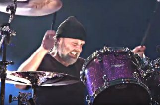 """Tätä ei toivoisi edes pahimmalle vihamiehelle: katso video rumpalista kokemassa unihalvaus Metallican """"St. Anger"""" -albumin virvelisoundiin"""