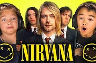 Näin lapset reagoivat Nirvanan musiikkiin: katso hauskoja reaktioita