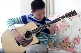 Liu Jiazhuo -nuori kitaristi -youtube