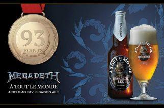 """Megadethin """"À Tout le Monde"""" -olut nappasi kultaa"""
