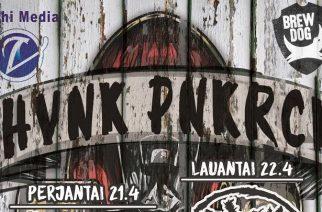 HVNK PNKRCK 2.0 -festivaalit Hyvinkäällä huhtikuussa
