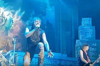 Iron Maidenin livevideoita katsottavissa loppuunmyydyltä keikalta Oberhausenista