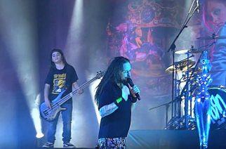 Korn esiintyi Metallican basistin pojan kanssa Porto Alegressa Brasiliassa: livevideoita keikalta katsottavissa