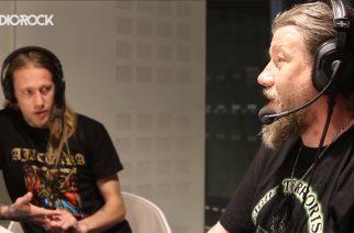 Ajattaran Pasi Koskinen, Vesa Wahlroos Radio Rock-lähetyksessä