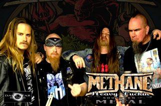 Ruotsalainen groove metal -yhtye Methane kolmelle klubikeikalle Suomeen kesäkuussa