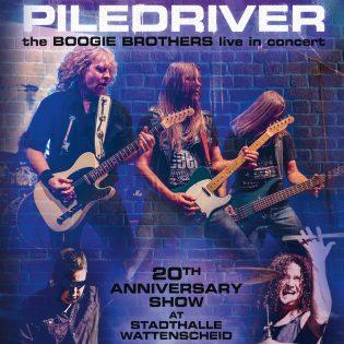 """20 vuotta Status Quon perintöä vaalien – Piledriverin livetaltiointi """"The Boogie Brothers"""""""