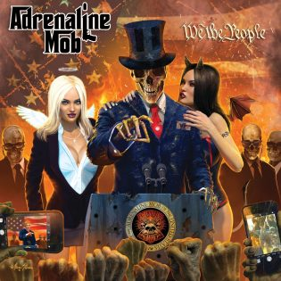Miehekästä hard rockia massoille: Adrenaline Mob – We The People