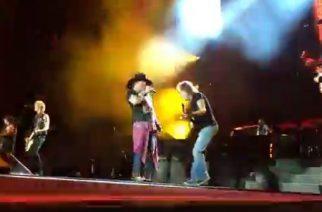 AC/DC:n Angus Young nousi lavalle Guns N´ Rosesin kanssa Hannoverissa: livevideo katsottavissa