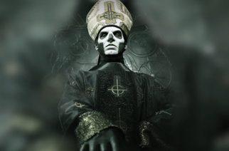 """Ghostin Papa meneillään olevasta kiertueesta Iron Maidenin kanssa: """"Maidenin fanit ovat ottaneet meidät hienosti vastaan"""""""
