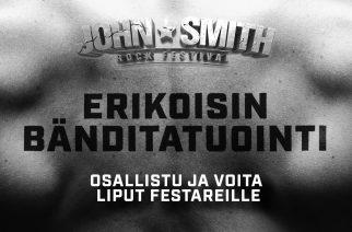 Onko sinulla Suomen erikoisin bänditatuointi? Osallistu kilpailuun ja voita liput John Smith Rock Festivaliin kaverisi kanssa!