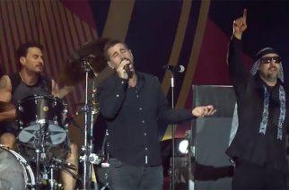 Serj Tankian ja Prophets of Rage  esiintymine -youtubevideo