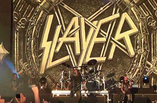 Fanien kuvaamia livevideoita katsottavissa Slayerin Gröna Lundin keikalta