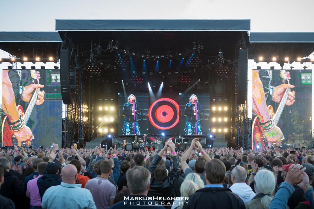 Järjestäjät katkaisivat virrat Guns N' Rosesilta bändin BottleRockin-keikalla