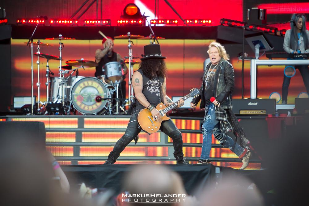 Guns N' Roses osoitti valovoimansa Kantolassa: livekuvat keikalta katsottavissa   KaaosZine