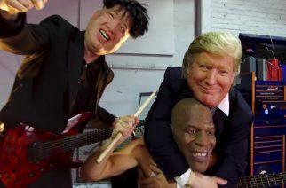 Donald Trump, Kim Jong Un sekä Mike Tyson jammailevat uudella The Nuclear Power Trio -videolla