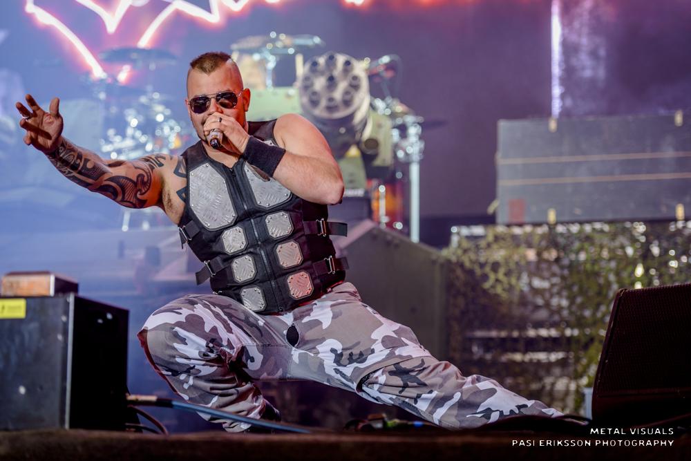 """Sabaton esitti """"The Red Baron"""" -kappaleensa ensimmäistä kertaa U Rockissa: livevideo katsottavissa"""